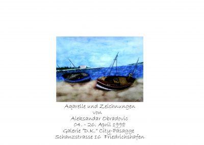 """Ausstellung Galerie """"D.K."""" Friedrichshafen"""