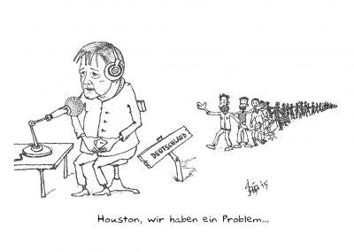 """""""Karikatur für """"SZ"""""""""""