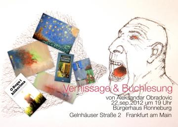 Ausstellung und  Buchlesung